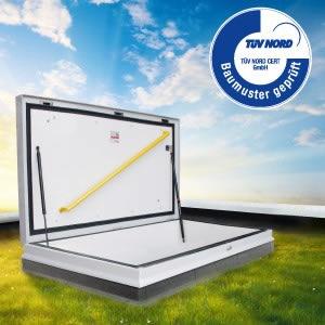 BouwWeb Bouwnieuws - Dakluiken en daktoegangen nu met TÜV certificaat: www.bouwweb.nl/info/artikelen001/index1320.html